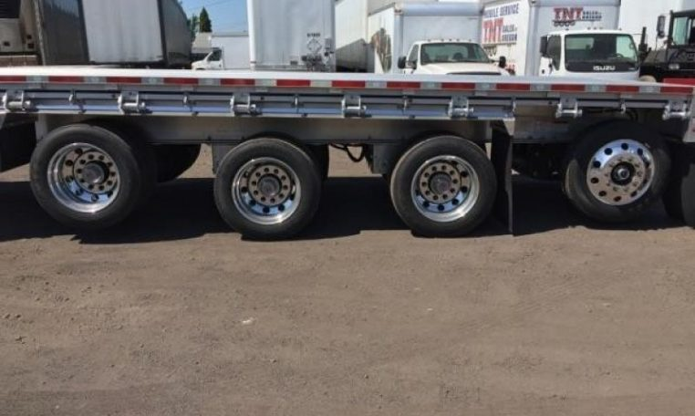 Thumbnail : 2019 MAC TRAILER MFG QUAD AXLE, WESTERN RAIL, NEW IN STOCK!! 3044892340-762x456