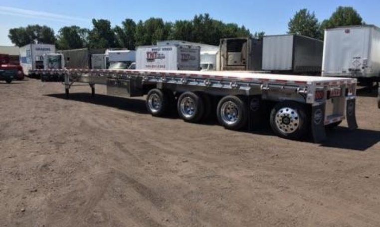 Thumbnail : 2019 MAC TRAILER MFG QUAD AXLE, WESTERN RAIL, NEW IN STOCK!! 3044892350-762x456