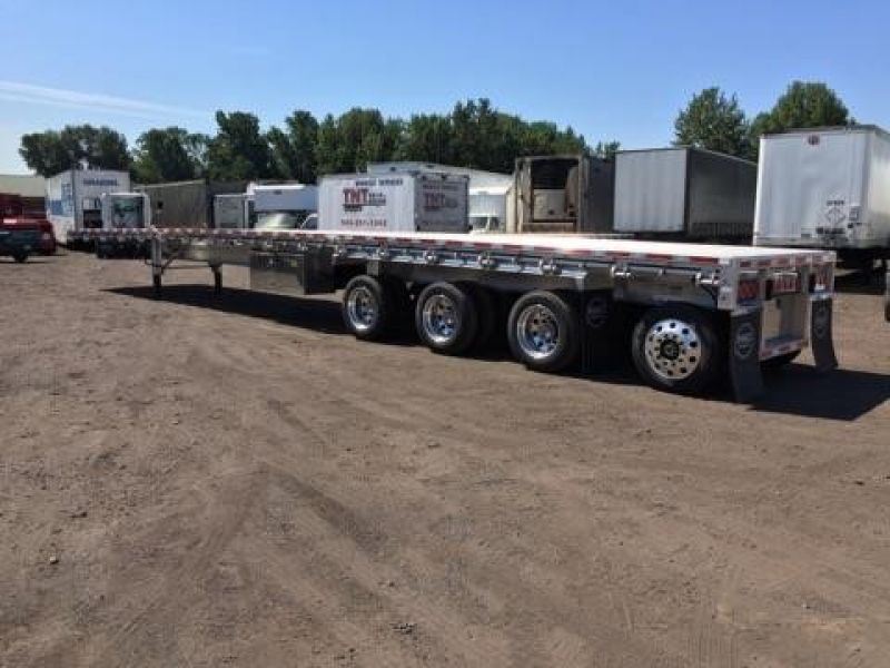 2019 MAC TRAILER MFG QUAD AXLE, WESTERN RAIL, NEW IN STOCK!! 3044892350-762x456