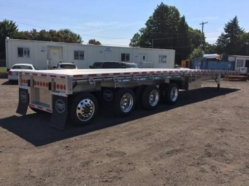 2019 MAC TRAILER MFG QUAD AXLE, WESTERN RAIL, NEW IN STOCK!! 4205142725-2