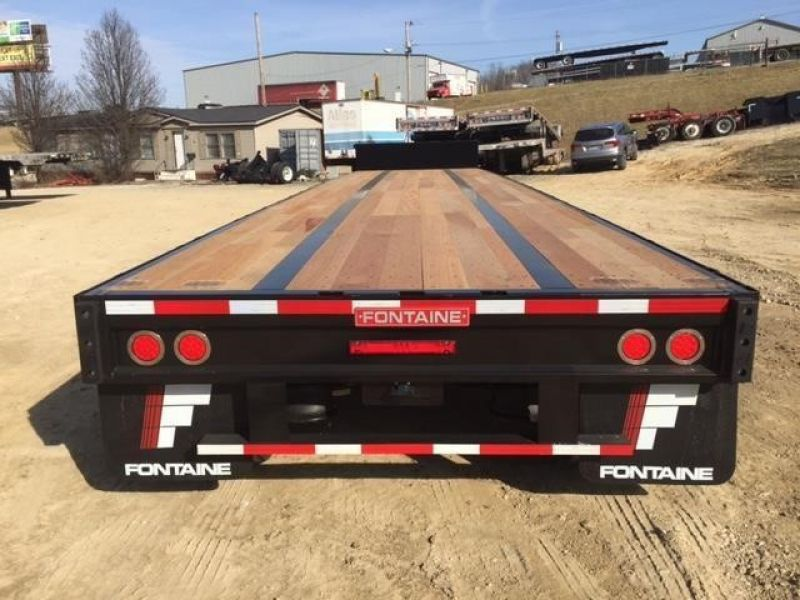 2020 FONTAINE (QTY 20) 48X102 ALL STEEL WOOD FLOOR DROP DECK 4205193275-1