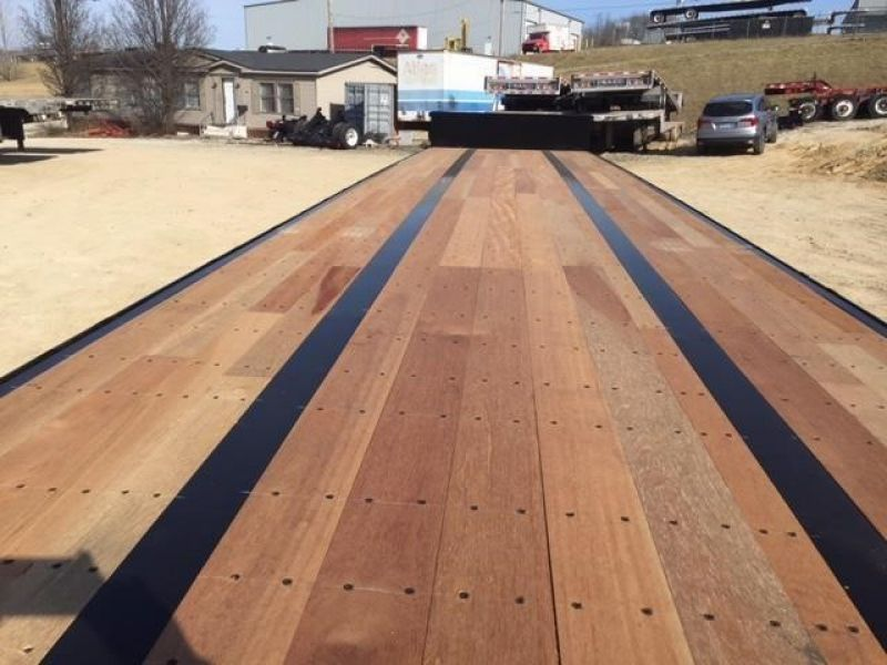 2020 FONTAINE (QTY 20) 48X102 ALL STEEL WOOD FLOOR DROP DECK 4205193307-1