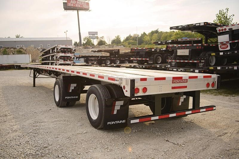 2020 FONTAINE (QTY 5) 53X102 COMBO FLATBED FIXED TANDEM 4205322851-1