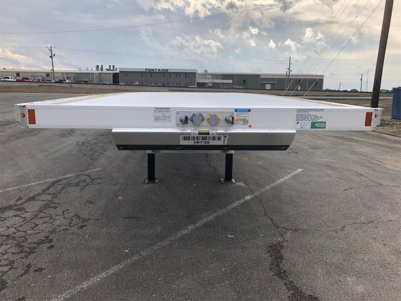 2020 FONTAINE (QTY 35) 48X102 ALL ALUMINUM FLATBEDS 4205618839-1