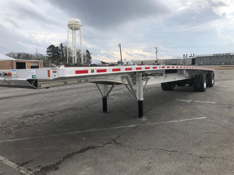 2020 FONTAINE (QTY 35) 48X102 ALL ALUMINUM FLATBEDS 4205618879-1