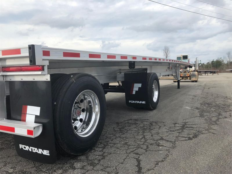 2020 FONTAINE (QTY 35) 48X102 ALL ALUMINUM FLATBEDS 4205621943-1