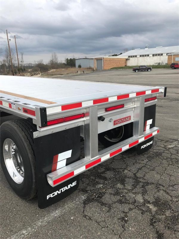 2020 FONTAINE (QTY 35) 48X102 ALL ALUMINUM FLATBEDS 4205626145-1