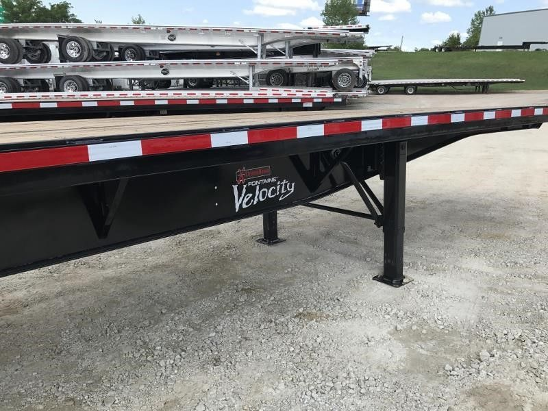 2020 FONTAINE (QTY 15) 48X102 ALL STEEL WOOD FLOOR FLATBEDS 4205698807-1