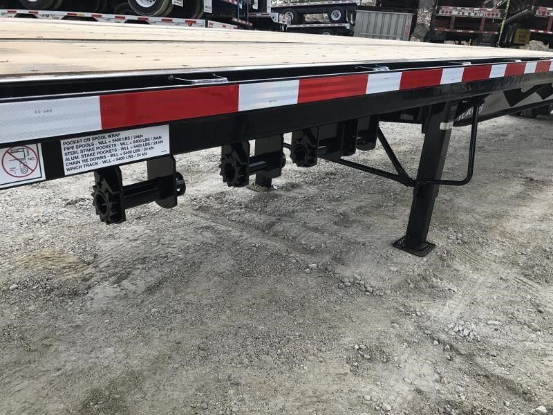 2020 FONTAINE (QTY 15) 48X102 ALL STEEL WOOD FLOOR FLATBEDS 4205698917-1