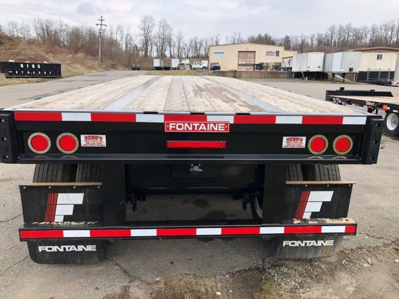 2020 FONTAINE (QTY 5) 53X102 ALL STEEL WOOD FLOOR FLATBED 4208048333-1