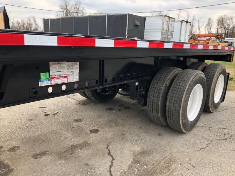 2020 FONTAINE (QTY 5) 53X102 ALL STEEL WOOD FLOOR FLATBED 4208048347-1