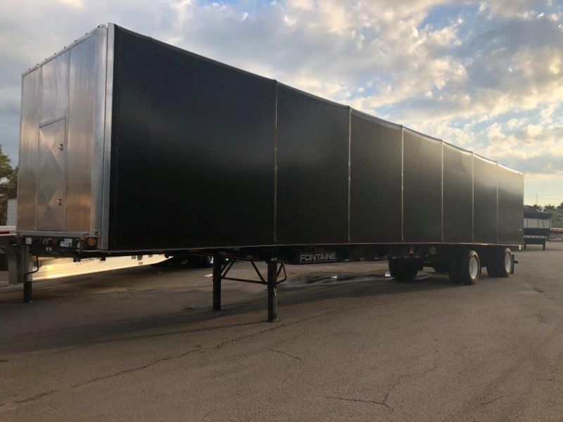 2020 FONTAINE 53X102 COMBO FLATBED W/ TARP SYSTEM 4208115789-1