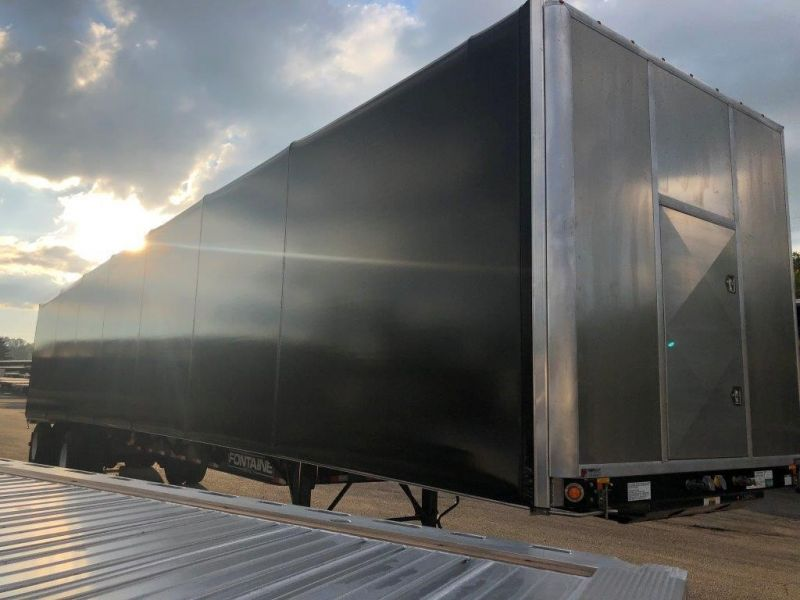 2020 FONTAINE 53X102 COMBO FLATBED W/ TARP SYSTEM 4208115879-1