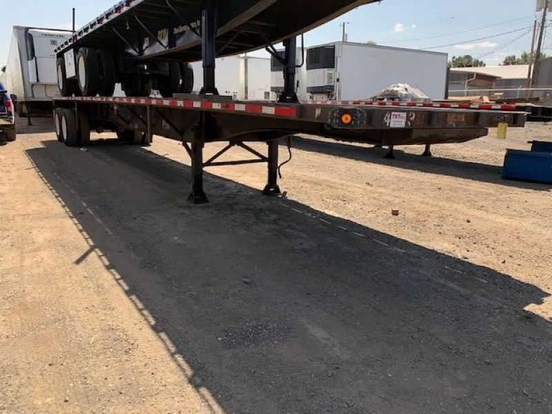 2000 UTILITY 45' FLATBED CLOSED TANDEM SLIDER 5036877223