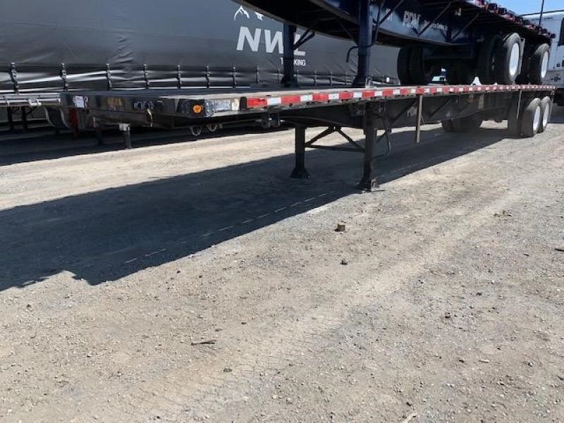 2000 UTILITY 45' FLATBED CLOSED TANDEM SLIDER 5036877225