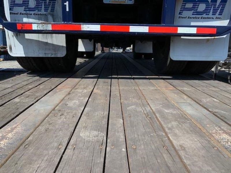 2000 UTILITY 45' FLATBED CLOSED TANDEM SLIDER 5036877233
