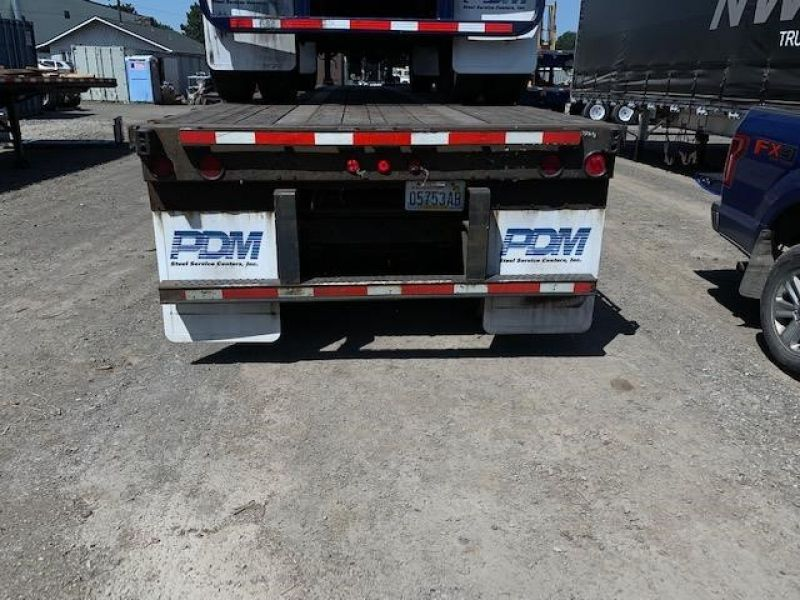 2000 UTILITY 45' FLATBED CLOSED TANDEM SLIDER 5036880809