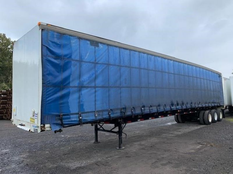 1997 TRAILMOBILE 53' TRI AXLE CURTAIN VAN 5130193631