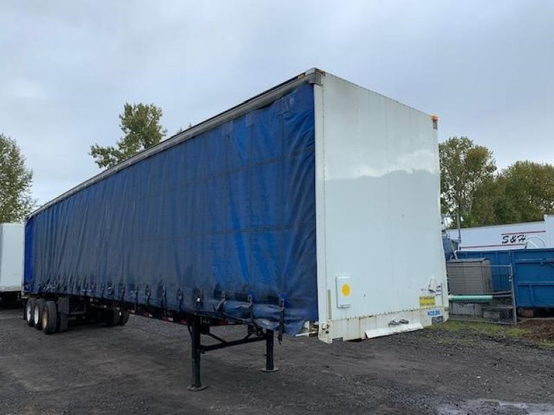 1997 TRAILMOBILE 53' TRI AXLE CURTAIN VAN 5130193643