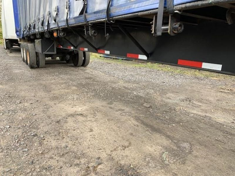 1997 TRAILMOBILE 53' TRI AXLE CURTAIN VAN 5130193655