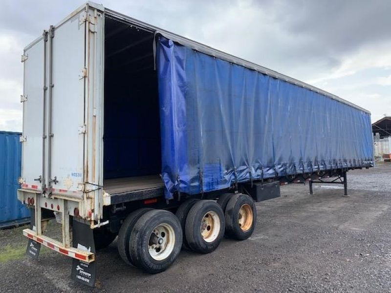 1997 TRAILMOBILE 53' TRI AXLE CURTAIN VAN 5130193661