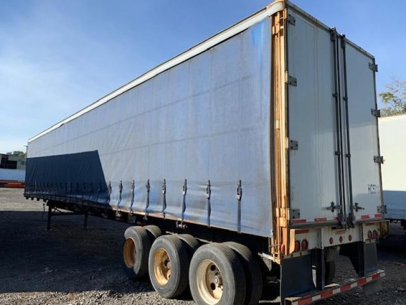 1997 TRAILMOBILE 53' TRI AXLE CURTAIN VAN 5130207925