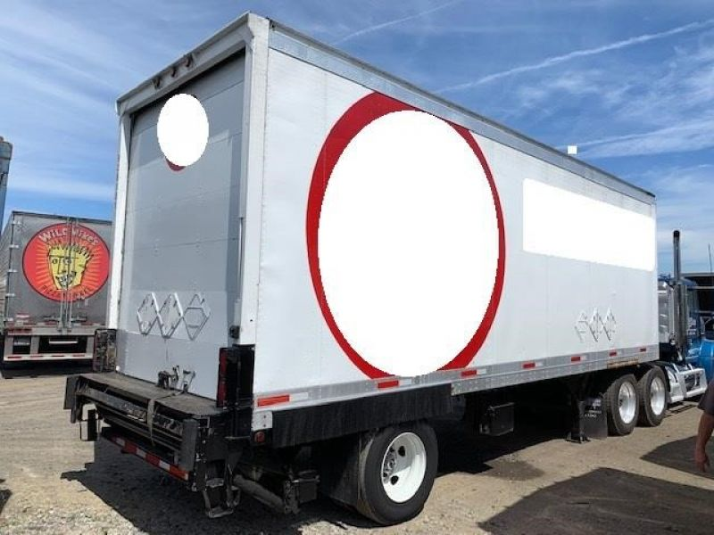 Thumbnail : 2001 GREAT DANE 28' ROLL DOOR LIFTGATE 5146308489
