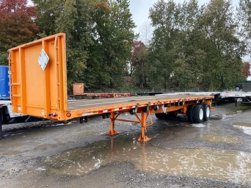 2012 GREAT DANE 36' FLATBED WITH FORKLIFT KIT 5147578085