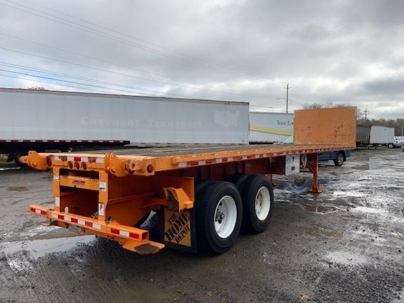 2012 GREAT DANE 36' FLATBED WITH FORKLIFT KIT 5147578097