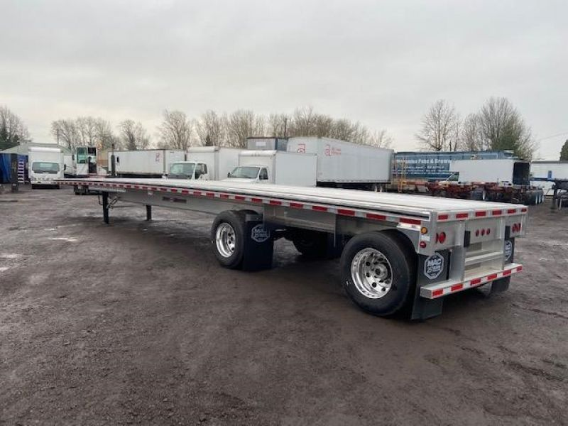Thumbnail : 2020 MAC TRAILER MFG 48' MAC ROAD WARRIOR FLATBEDS 5215422679