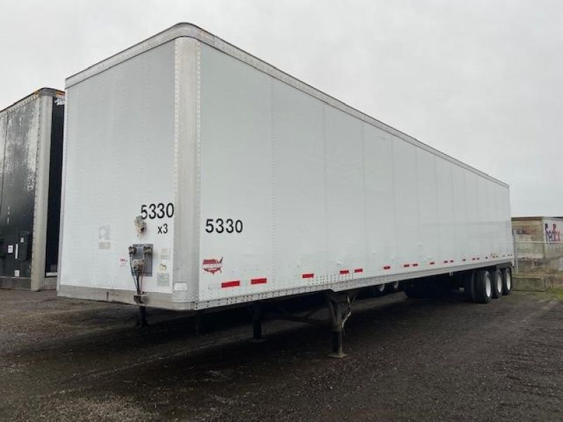 2005 WABASH NATIONAL 53' TRI AXLE DRY VAN` 5223894355