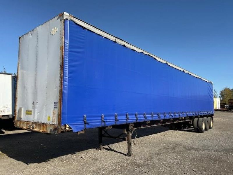 1997 TRAILMOBILE 53' TRI AXLE CURTAIN VAN 5224525275