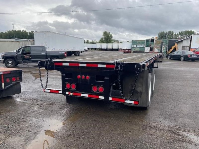 2010 UTILITY 40' AIR RIDE FLATBED WITH FORKLIFT KIT 6066553131