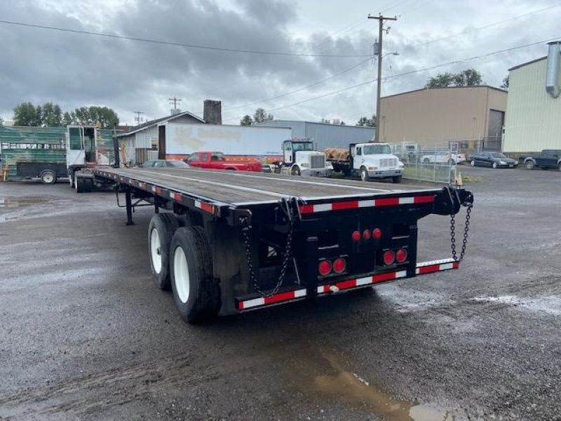 2010 UTILITY 40' AIR RIDE FLATBED WITH FORKLIFT KIT 6066553153