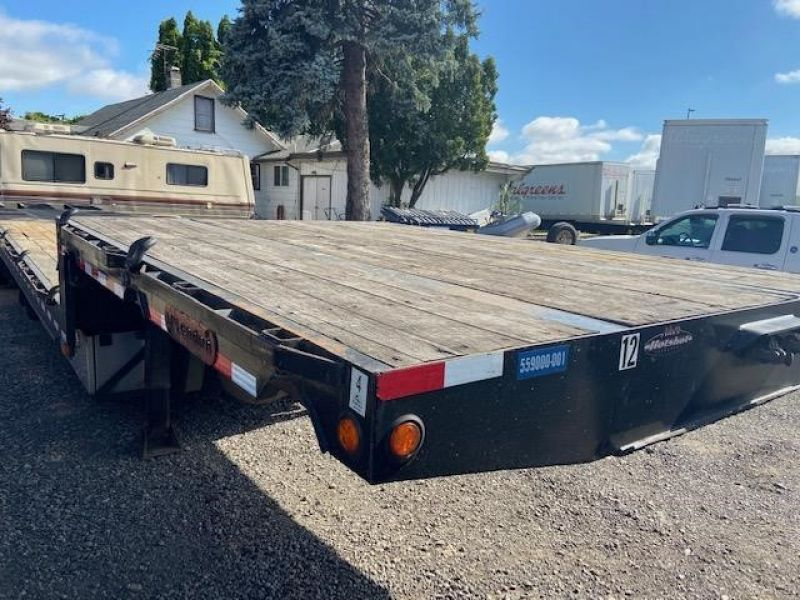 2013 MCLENDON 53' TRI-AXLE DROP DECK WITH DOVE TAIL 6099298647