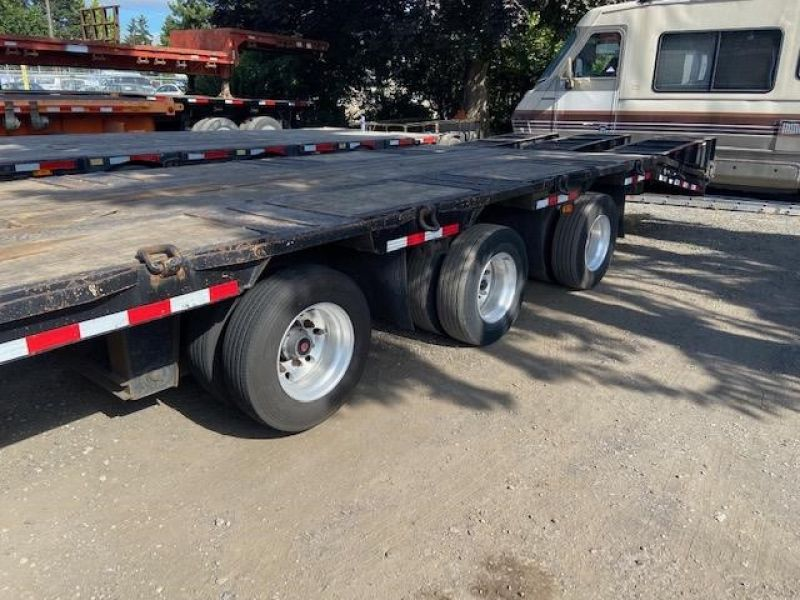 2013 MCLENDON 53' TRI-AXLE DROP DECK WITH DOVE TAIL 6099299449
