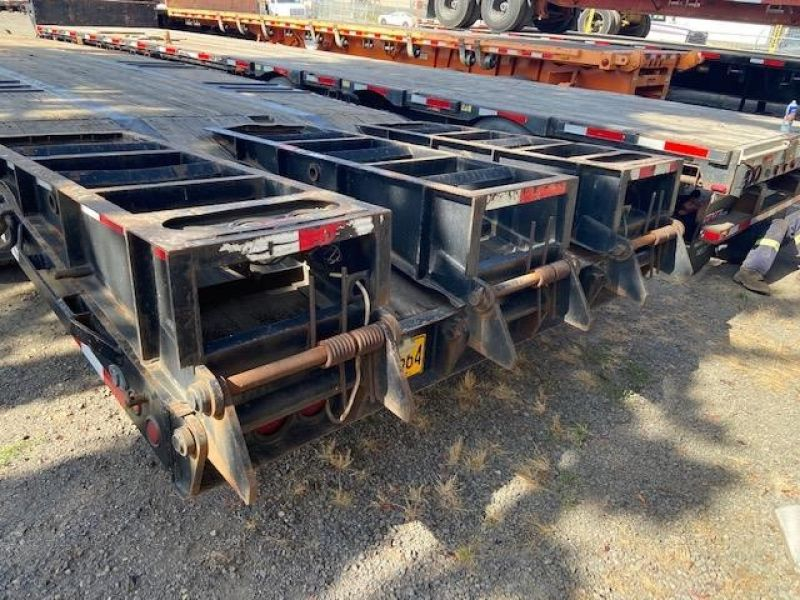 2013 MCLENDON 53' TRI-AXLE DROP DECK WITH DOVE TAIL 6099299831