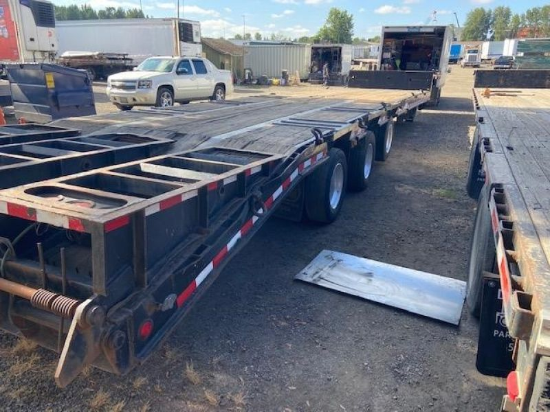 2013 MCLENDON 53' TRI-AXLE DROP DECK WITH DOVE TAIL 6099300039