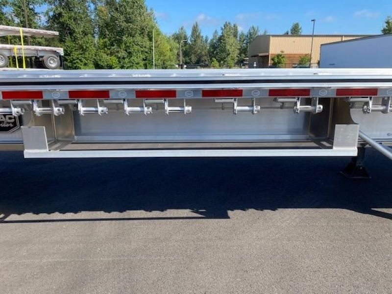 2021 MAC TRAILER MFG 48' ALL ALUMINUM 3 AXLE FLATBED 6115293055