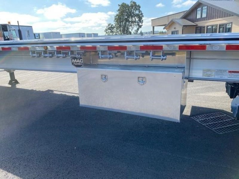 2021 MAC TRAILER MFG 48' ALL ALUMINUM 3 AXLE FLATBED 6115293065