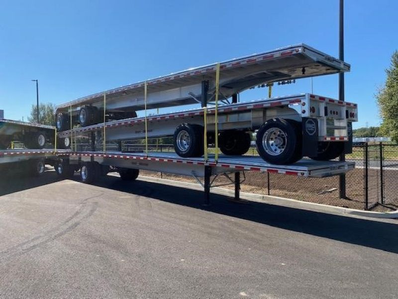 2021 MAC TRAILER MFG NEW 48' ALL ALUMINUM 48' ROAD WARRIOR FLATBED 6116818395