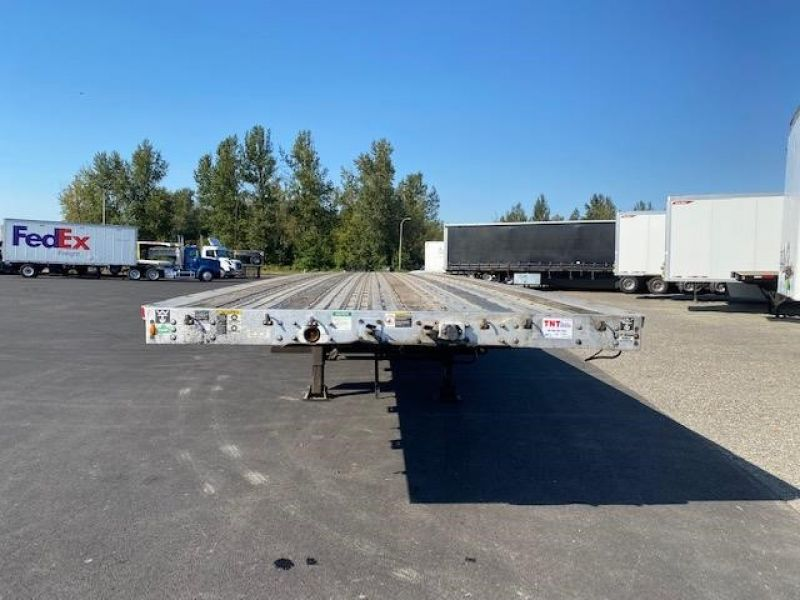 2009 WILSON 53' QUAD AXLE FLATBED 6141875947