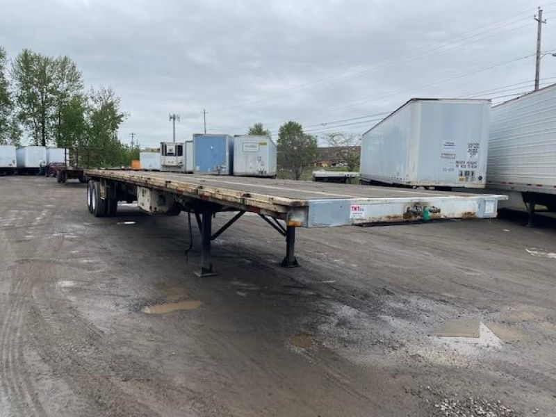 "1985 UTILITY 45' X 102"" ALL STEEL FLATBED 6153422397"