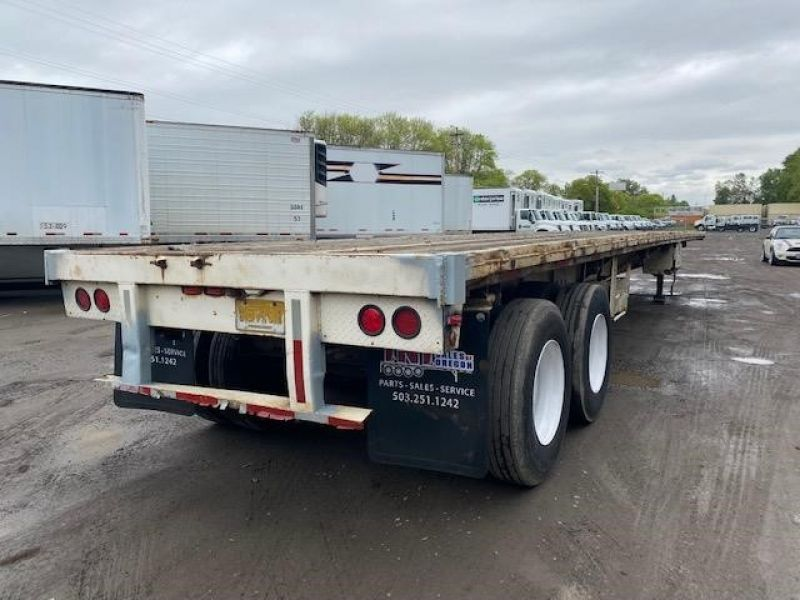 "1985 UTILITY 45' X 102"" ALL STEEL FLATBED 6153422969"