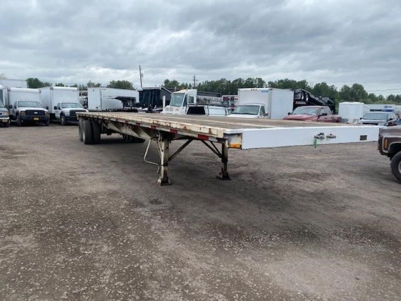 "1985 UTILITY 45' X 102"" ALL STEEL FLATBED 6153432021"