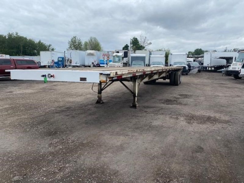"""1985 UTILITY 45' X 102"""" ALL STEEL FLATBED 6153432023"""