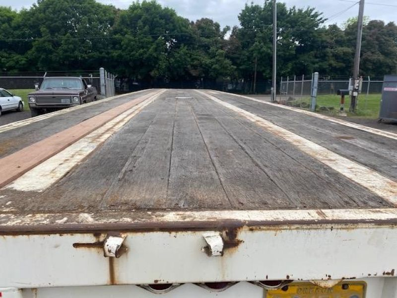 """1985 UTILITY 45' X 102"""" ALL STEEL FLATBED 6153432037"""