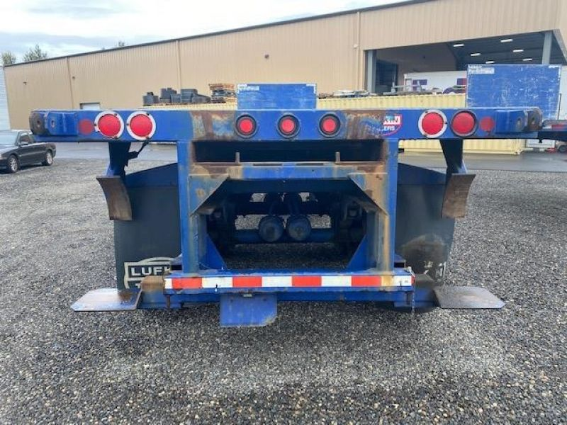 2008 UTILITY 32' FLAT BED WITH FORKLIFT KIT(MOFFETT) 6157119185