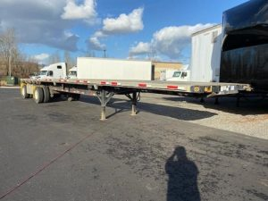2008 FONTAINE 48' FLAT BED 6215600743