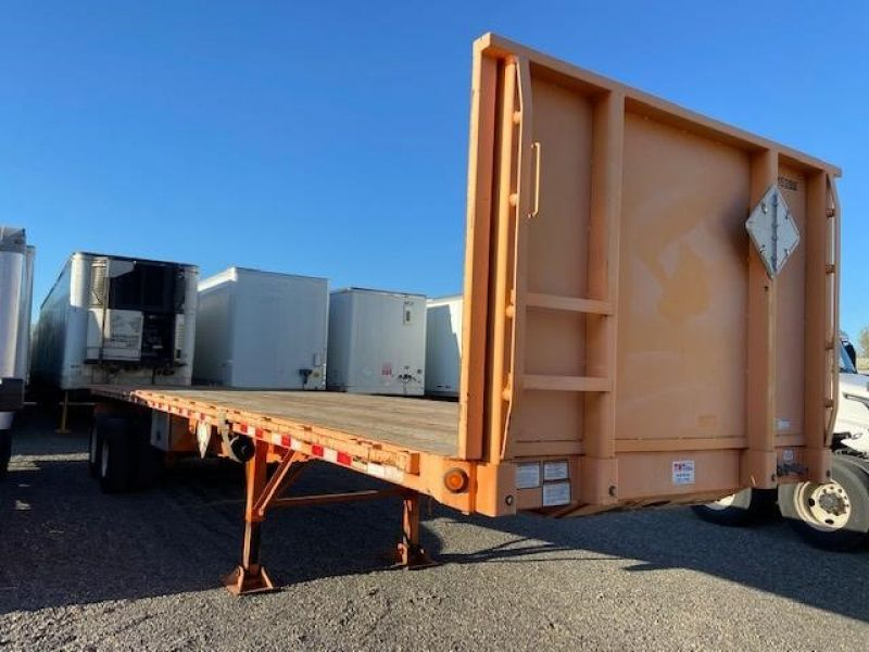 2012 GREAT DANE 36' FLATBED WITH UNIVERSAL FORKLIFT KIT 7012482995